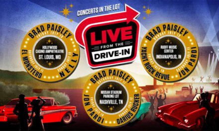 Brad Paisley headlining Live Nation's first-ever 'Live From The Drive-In' concert series