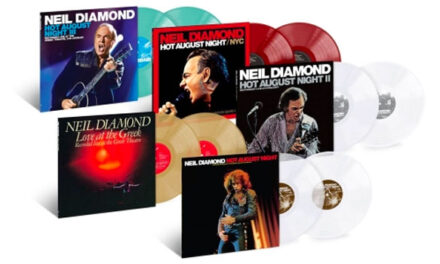 Neil Diamond releasing all 'Hot August Night' albums on 2 LP