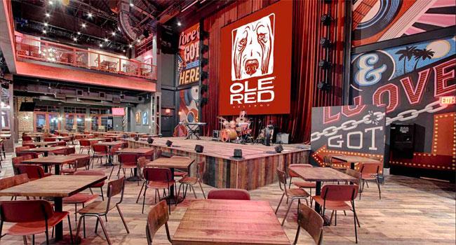 Blake Shelton's Ole Red Orlando announces opening date