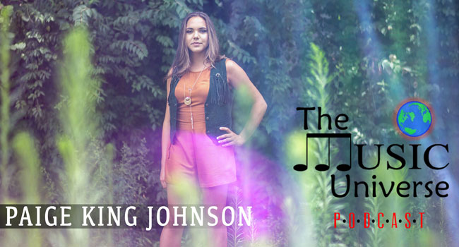 Paige King Johnson on The Music Universe Podcast