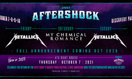 Aftershock Festival 2021 lineup announced