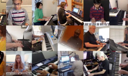 Video of world's largest virtual piano recital released