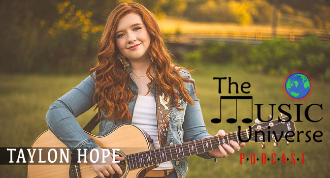 Taylon Hope on The Music Universe Podcast