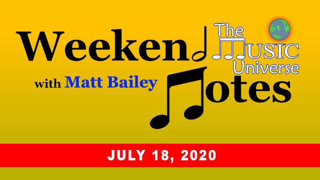 Weekend Notes for July 18, 2020