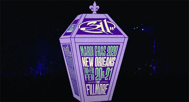 311 Mardi Gras 2020