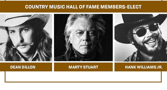 Dean Dillon, Marty Stuart & Hank Williams Jr.