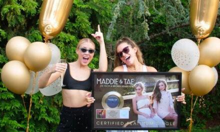 Maddie & Tae score second No 1