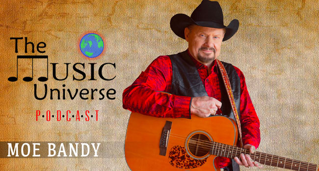 Moe Bandy on The Music Universe Podcast
