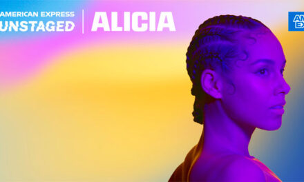 Alicia Keys performing special American Express Unstaged concert