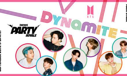 Fortnite premiering BTS 'Dynamite' choreography music video