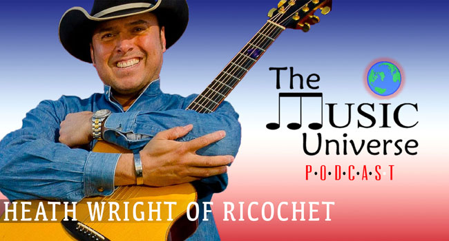 Ricochet's Heath Wright on The Music Universe Podcast