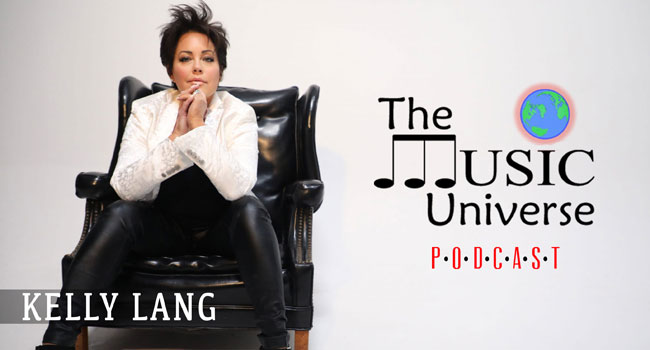 Kelly Lang on The Music Universe Podcast