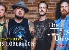 Black Stone Cherry's Chris Robertson on The Music Universe Podcast