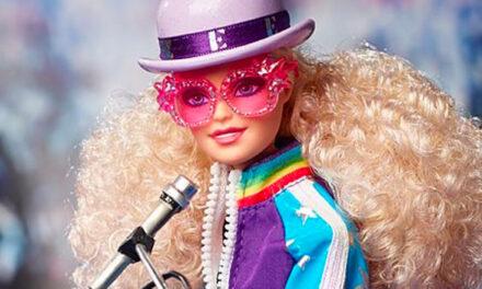 Elton John gets Barbie treatment