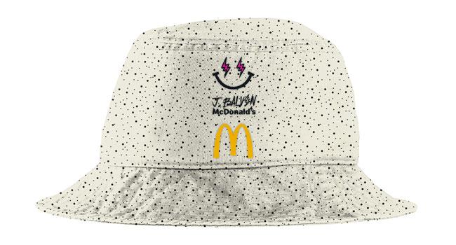 J Balvin McDonald's McFlurry Bucket Hat