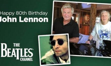Paul McCartney, Alec Baldwin honoring John Lennon's 80th birthday on SiriusXM