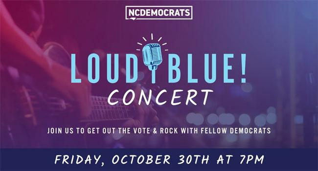 Loud Blue! Vote for NC Concert