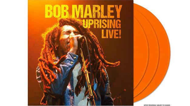 Bob Marley announces 'Uprising Live'