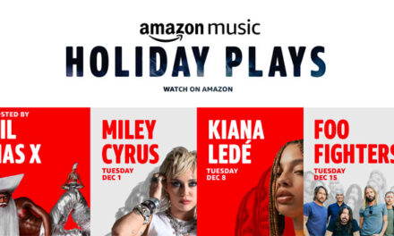 Amazon Music announces 'Holiday Plays' weekly concert experience
