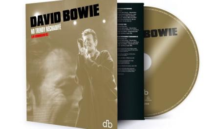 David Bowie 'No Trendy Rechauffe (Live Birmingham 95)' detailed