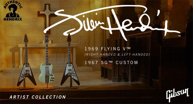 Gibson honors Jimi Hendrix with two Custom Shop guitars