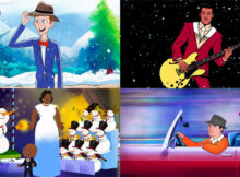 Bing Crosby, Chuck Berry, Ella Fitzgerald, Frank Sinatra get animated for Christmas