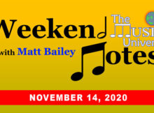 Weekend Notes 11/14/20