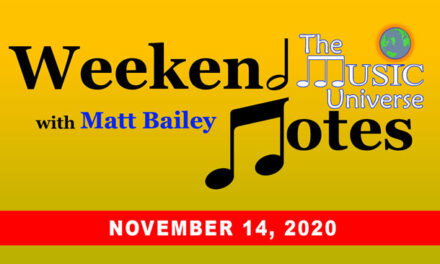 Weekend Notes for November 14, 2020