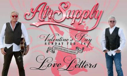 Air Supply announces Valentine's Day livestream