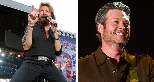 Ronnie Dunn defends Blake Shelton for 'tone deaf' song