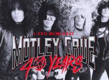 Motley Crue 40