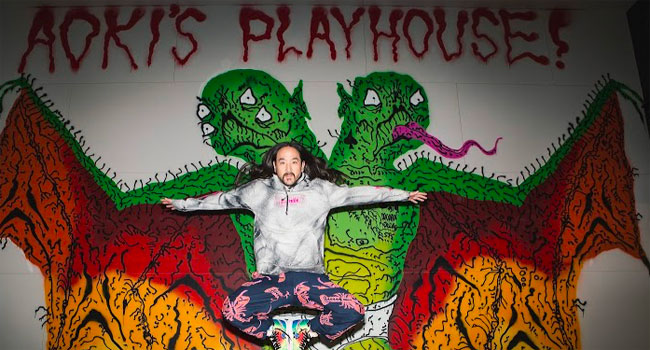 Steve Aoki teams with Playboy for exclusive collaboration