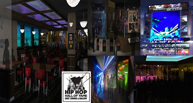Hip Hop Hall of Fame opening cafe & museum
