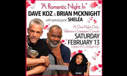 Dave Koz, Brian McKnight announce Valentine livestream