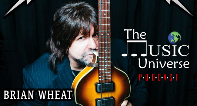 Brian Wheat on The Music Universe Podcast