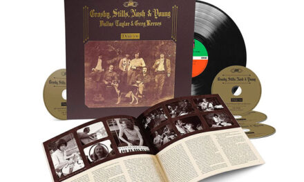 Crosby, Stills, Nash & Young announce 50th anniversary reissue of debut