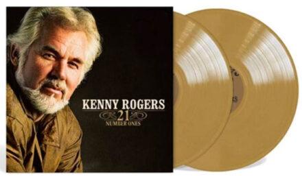 Kenny Rogers '21 Number Ones' making vinyl debut