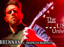 Dropkick Murphys' Tim Brennan on The Music Universe Podcast