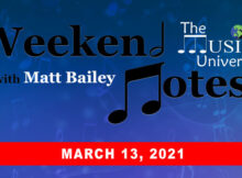 Weekend Notes 3/13/21
