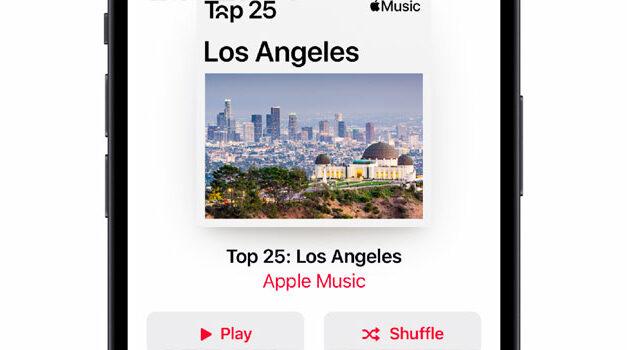 Apple Music unveils City Charts
