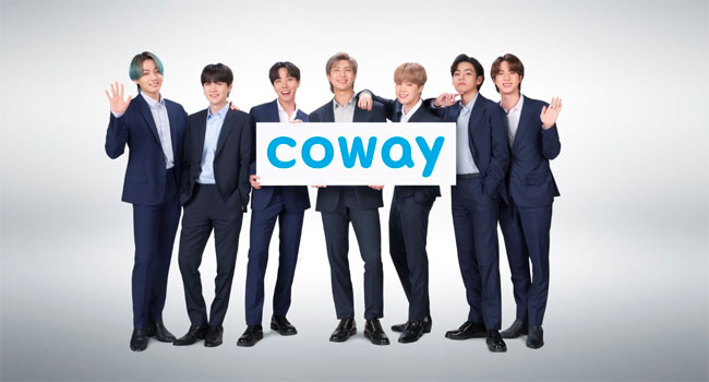 BTS & Coway