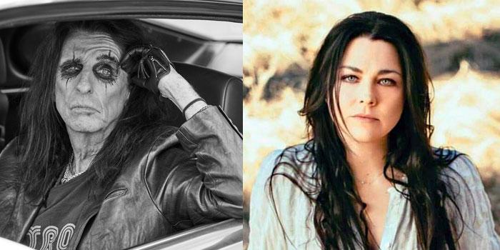 Alice Cooper & Amy Lee