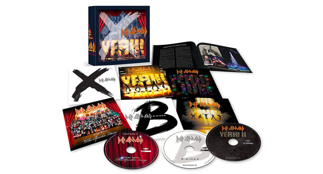 Def Leppard announces 'Vol 3' box set
