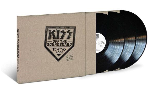 Kiss announces 'Kiss Off The Soundboard: Tokyo 2001'