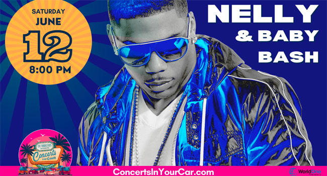 Nelly & Baby Bash take over Concerts in Your Car stage
