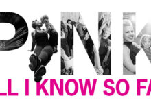 P!NK - All I Know So Far