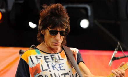Ronnie Wood releases signed affirmation print; reveals second cancer diagnosis