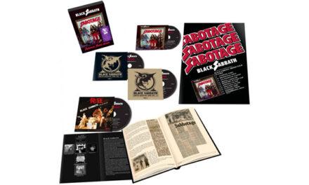 Black Sabbath announces 'Sabotage' Super Deluxe Edition