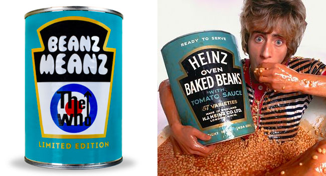 The Who reunites with Heinz Beanz for charity cans | The Music Universe