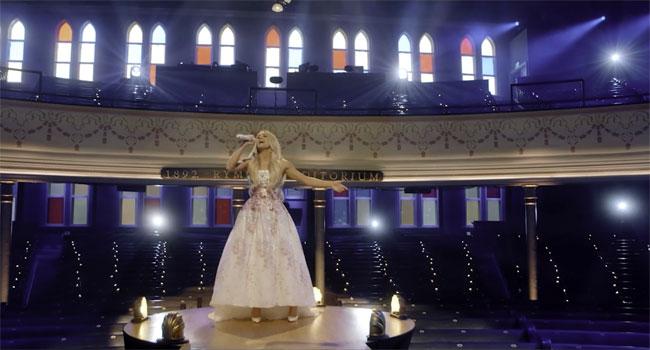 Carrie Underwood at Ryman Auditorium